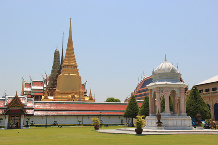 potent: Emerald Buddha Temple is the most sacred Buddhist temple a potent religionpolitical symbol and the palladium of Thai society.