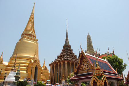potent: Emerald Buddha Temple is the most sacred Buddhist temple a potent religiopolitical symbol and the palladium of Thai society.