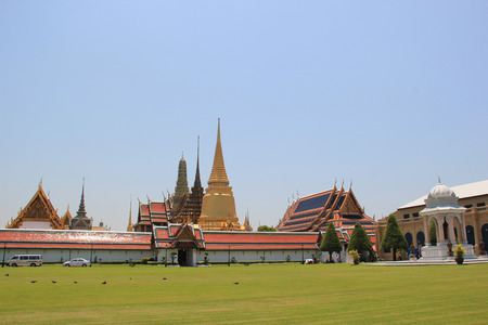 potent: Emerald Buddha Temple is the most sacred Buddhist temple, a potent religion-political symbol and the palladium of Thai society.