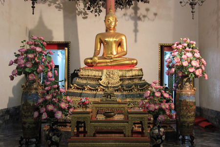 classed: Buddha at Wat Pho, one of the six temples classed as the highest grade of the first class Royal temples in Thailand.