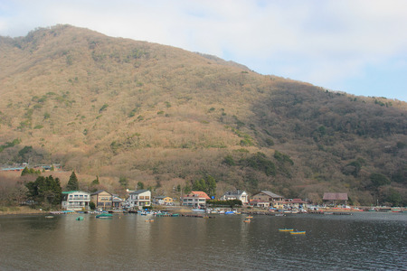 historical sites: Lake Ashi, a crater lake that lies along the southwest wall of the caldera of Mount Hakone, is known for its views of Mount Fuji, hot springs and historical sites.