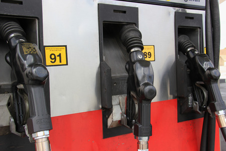 octane: Gas Pumps with Different Octane