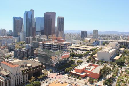 ロサンゼルス、カリフォルニア、アメリカ合衆国 - 2015 年 8 月 14 日: ロサンゼルスのダウンタウン、スキッドロウ、ファッション ・ ディストリクト 報道画像