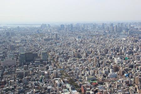 東京、日本 - 2015 年 4 月 12 日: 東京は資本と日本の最大の都市です。首都圏は、世界で最も人口の多い首都圏。