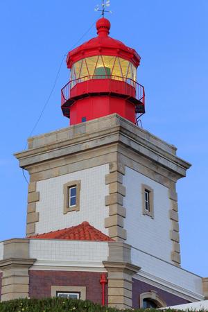 roca: Lighthouse on cape Cabo da Roca, Portugal