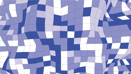 surface: Abstract wireframe blue colored surface wave object Illustration