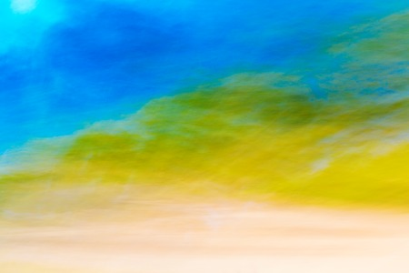 blue green background: Colorful blured motion background blue green yellow