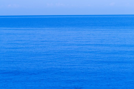 ambient: Sea water blue texture with ambient light Stock Photo