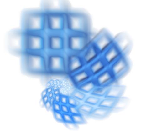 컴퓨터 렌더링 3D 추상 프랙탈 그림 배경 크리 에이 티브 디자인