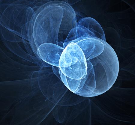 bio medicine: Computer rendered abstract fractal background for creative design