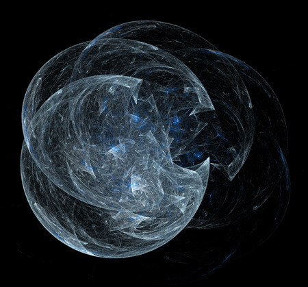 astrophysics: Computer rendered abstract fractal background for creative design