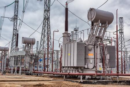 energia electrica: planta de energía eléctrica, línea de transmisión de energía, equipos industriales