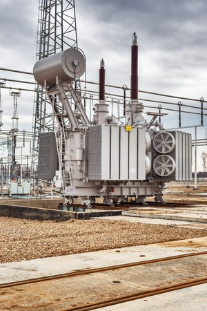 enginery: Electric power plant, power transmission line, industrial equipment