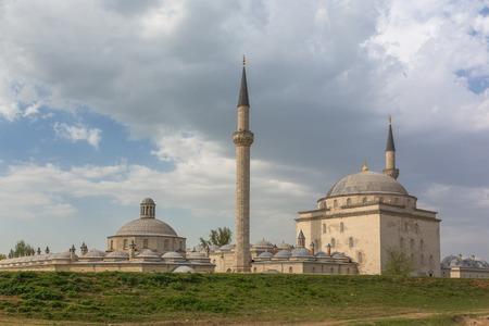 edirne: Beyazit Kulliyesi, mosque and hospital complex built by Bayezid II, Edirne, Edirne Province, Turkey
