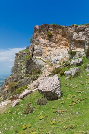 province: Mountain view near Honaz, Denizli Province, Turkey