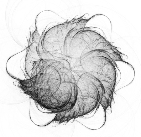 Abstract fractal illustration for modern creative design Stock fotó