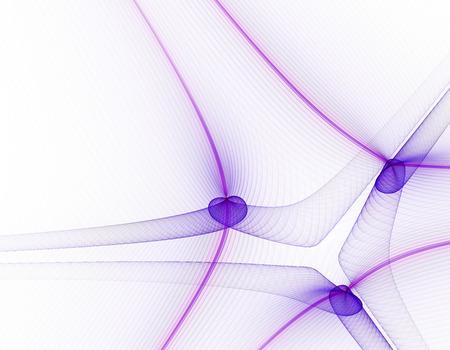 white matter: Abstract fractal illustration for modern creative design Stock Photo