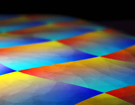 patch of light: Abstract fractal illustration for modern creative design Stock Photo