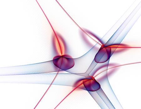 spire: Abstract fractal illustration for modern creative design Stock Photo