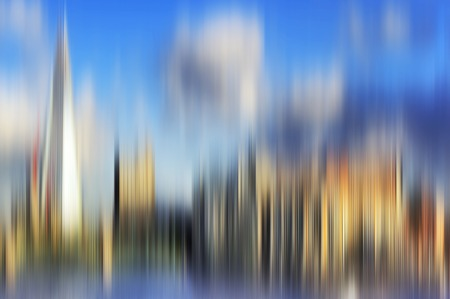 futuristic city: Abstract colorful blurred background for creative design