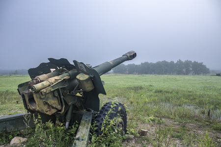 World war two soviet military cannon