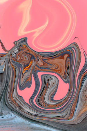 liquefied: Colorful psychedelic liquefied background