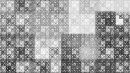 단색 패턴 프랙탈 배경