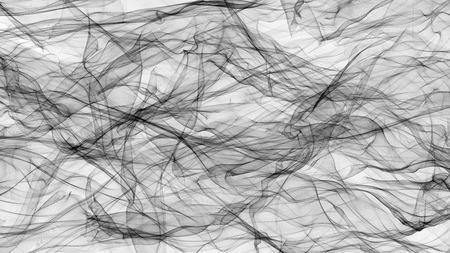 3D illustratie van transparante sluier
