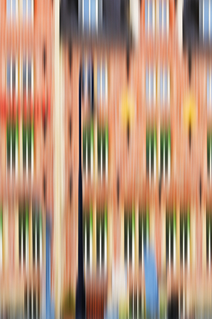 abstract paintings: Psychedelic background based on blured architecture image Stock Photo