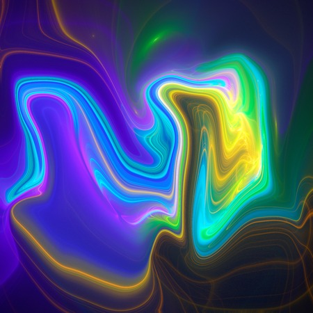 liquefy: Colorful psychedelic liquefied background