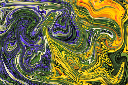 background texture metaphor: Colorful psychedelic liquefied background