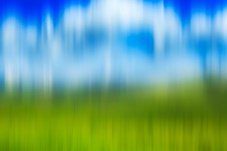 percepción: Fondo psicodélico basado en la imagen del paisaje blured