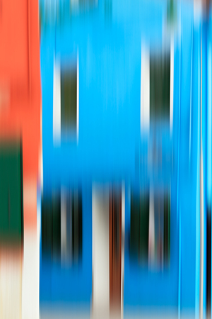 Psychedelic background based on blured architecture image Stock Photo