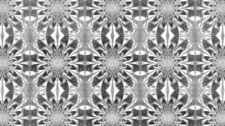 Abstracte fractal illustratie voor creatief ontwerp