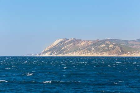 Beautiful seascape at summer day, Black Sea.