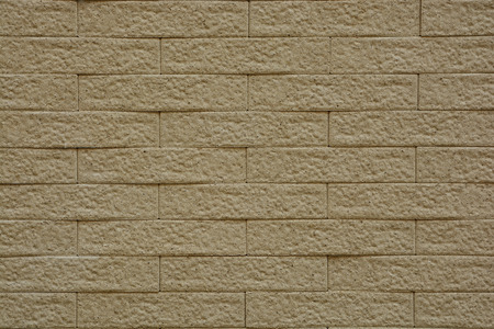parapet wall: background and texture of vintage style decorative brown brick wall