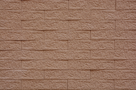 parapet: background and texture of vintage style decorative brown brick wall