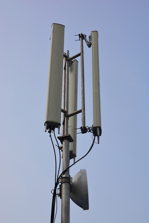 Telecommunications tower cells for mobile communications.