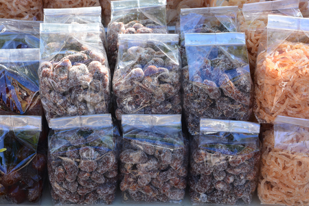snappy: Tamarind mix with sugar in plastic bag