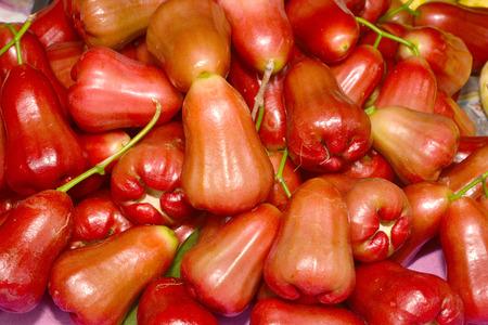 fruity salad: rose apple