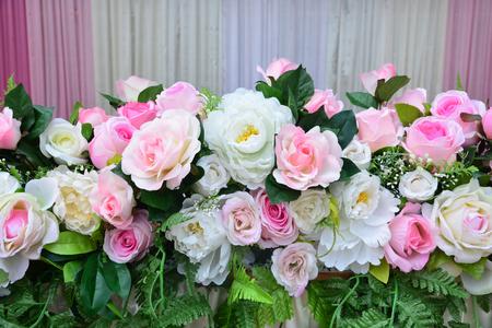 wedding backdrop: Soft color Roses Background