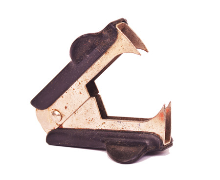 remover: old  staple remover