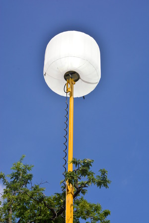 Balloon lights (also called lighting balloons) are a specialized type of luminaire used primarily for lighting in the motion picture industry, night highway construction, incident management