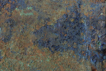 oxidized: Green Patina metal texture background Stock Photo