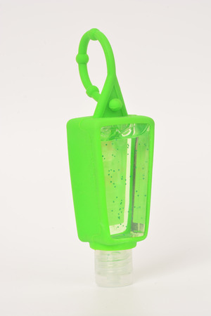 Silicone hand sanitizer holder and Alcohol Gel Hand Sanitizer