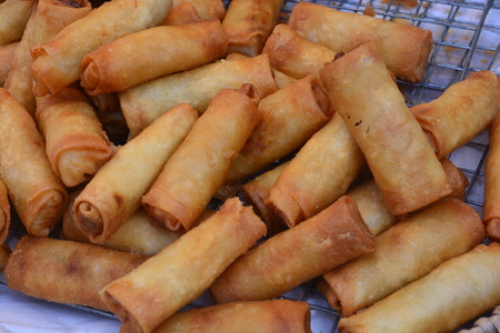 Spring Rolls Recipe With Chicken, Pork, Tofu, vegetable