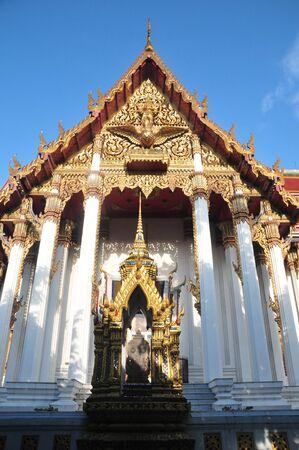 Wat Rajaburana Bangkok Stock fotó