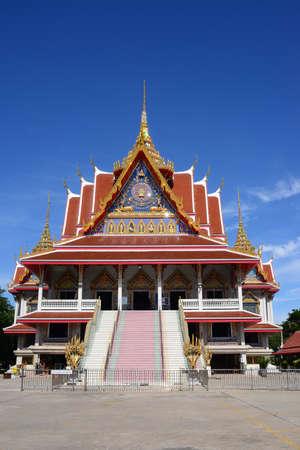 Sutthithamrangsri  Wihan of wat asokaram, Mueang Samut Prakan, Samut Prakan Province, Thailand