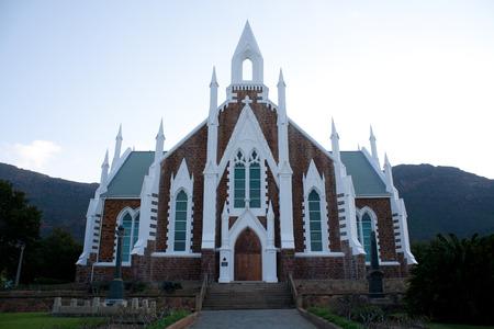 Church building in Piketberg Western Cape