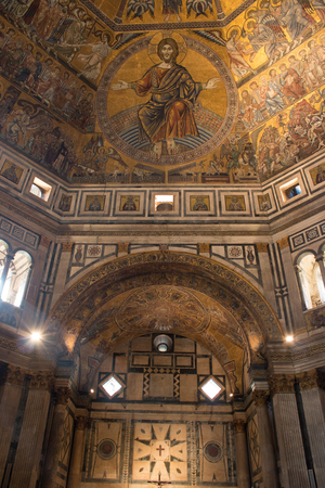 The Baptistery of St John in Florence Editorial